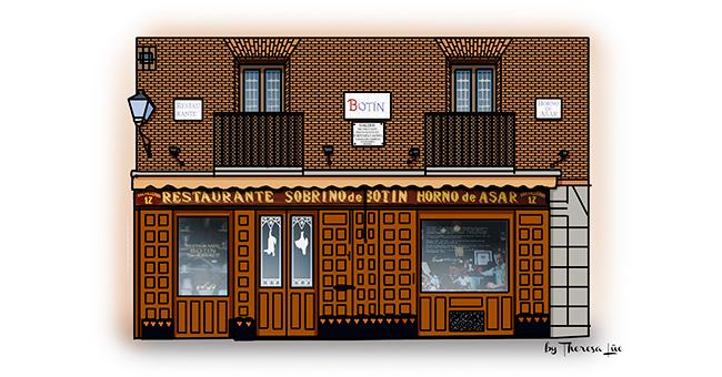 Gourmet mi petit madrid casa botin for Casa botin madrid