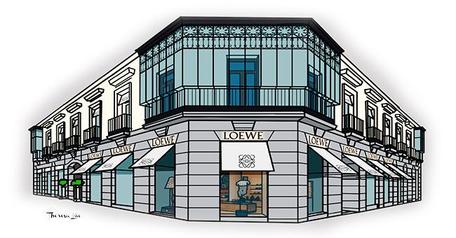 dfad0afcd A finales de 2016, la centenaria firma madrileña inauguró de la mano de  Jonathan Anderson, su flamante director creativo, la nueva Casa Loewe, en  su local ...