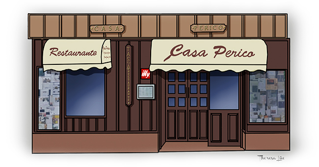Gourmet mi petit madrid i ruta de tortilla de patatapor la villa - Casa perico madrid ...