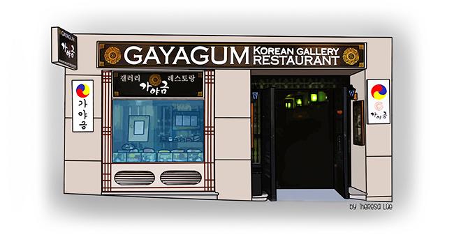 Gourmet mi petit madrid gayagum el restaurante for Estructura de una cocina de restaurante