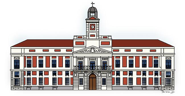 Cultura mi petit madrid vii getafe negro for Real casa de correos madrid