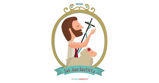 Dibujo Para Colorear De San Juan Bautista