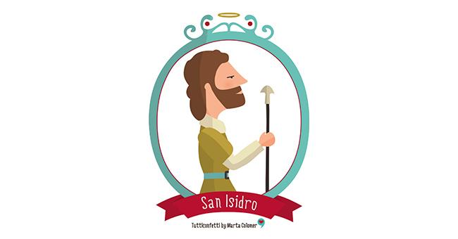 Dibujo De San Isidro Labrador Para Colorear
